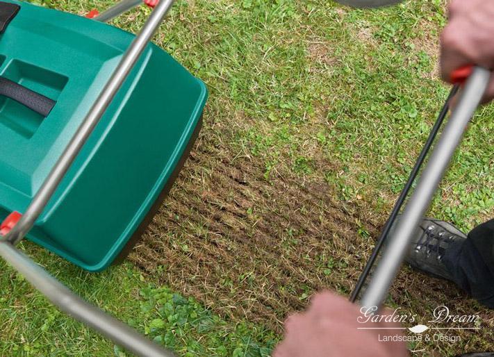 Уход за газонным покрытием